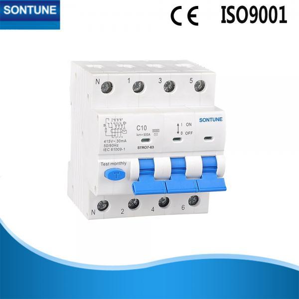 4 pole rcbo circuit breaker mcb rcd ac type residual currentbuy cheap 4 pole rcbo circuit breaker mcb rcd ac type residual current operated circuit