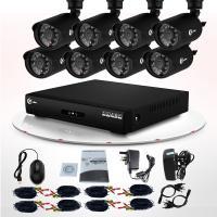 Buy cheap Video Surveillance Infrared LED CCTV Outdoor Weatherproof 700TVL CCTV Camera DVR Kit from Wholesalers