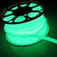 Buy cheap 110V 360 degree emitting 16mm round slim led neon flex christmas lights green from Wholesalers