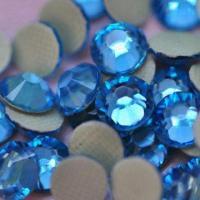 Buy cheap Hot Fix Rhinestones, Aquamarine, Top Quality from Wholesalers