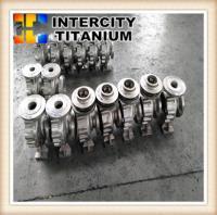 Buy cheap china titanium lost wax casting for titanium pump ,titanium Impeller from Wholesalers