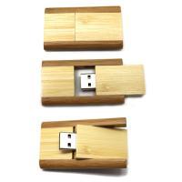 Buy cheap 16GB Swivel Wood USB Thumb Drive, Bamboo Twist USB, USB Wood for Promotion from Wholesalers