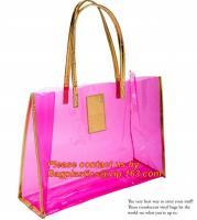 Buy cheap moisture proof eva school bag pu shoulder bag flat handle plastic bag, eve handle bags, pvc handle bags, striated bag wi from Wholesalers