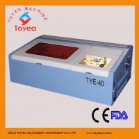 China Rubber stamp Laser engraving/engraver/carver machine  TYE-40 on sale