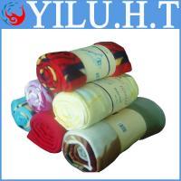 China sherpa summer polar fleece flag polyester blankets blankets polyester on sale