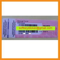China Windows 7 Professional License, Win7 Pro Sticker Label on sale