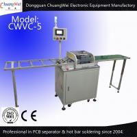 Buy cheap LED Tube Production V-Cut PCB Separator Pre Scoring MCPCB Depaneling from Wholesalers