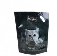 China Custom design gravure printing matt opp pet cpp pe plastic ziplock pouch pet dog food packaging bag on sale