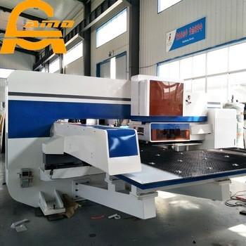 Axis Servo Punch Press , Hydraulic Cnc Turret Punch Press Machine