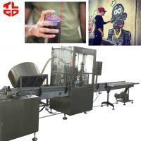 Buy cheap Automatic Graffiti Spray Paint aerosol filling machines from Wholesalers