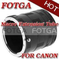 Fotga Macro Extension Tube Set For CANON X XT XTi XS XSi T1i 450D Cameras or DC DV