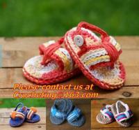 Slippers Baby crochet shoes crochet Cotton Crochet monkey Slippers Houseshoes pink green