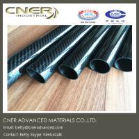 Carbon fiber tube, ID 26 mm twill weave carbon fibre rod, carbon fiber pole, matte and glossy finish