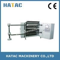 China Automatic Unloading System Non Woven Cloth Slitting Machine,Laminated Paper Cutting Machin on sale