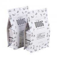 Buy cheap Plastic aluminum foil laminated material eight edge seal pet bag with zip lock from Wholesalers