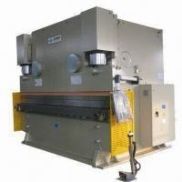 Hydraulic Press Brake Machine with CNC Controller and 5,000kN Maximum Normal Pressure