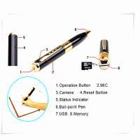 China mini pen hidden micro camera mini dv dvr video camera  spy camera pen on sale