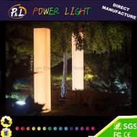 China 16 Colors Changing LED Square Pillar Light  Wedding decoration on sale