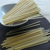 China Gluten free Jasmine white rice noodle with fettuccine/spaghetti shape on sale