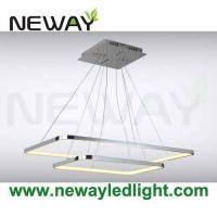 Buy LED Square 400x400 500x500 1000x1000 Linear Suspension Pendant ...