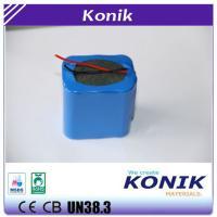 China Konik  Li-ion Battery Pack 6 Rechargeable 18650 Batteries Pack 22.2V 1500/1800/2000/2200mah on sale