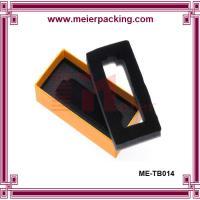 China Orange paper car keys box, rigid paper package box, paper lighter box  ME-TB014 on sale