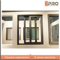 Buy cheap Rainproof Double Glazed Sliding Windows , Aluminium Horizontal Sliding Windows from Wholesalers