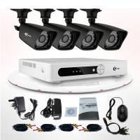 Buy cheap Network Security CCTV DVR kit 4CH H.26 DVR Surveillance System IR-cut 800TVL from Wholesalers