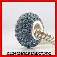 China Sterling Silver Austrian Swarovski Crystal Beads on sale