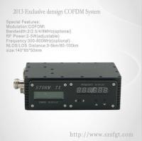 Buy cheap 2-5Watt COFDM Digital Wireless long range distance Video Transmission  for UAV from Wholesalers