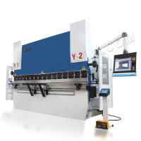 Buy cheap WC67K 110T3200 hydraulic sheet metal bending machine CNC press brake from Wholesalers