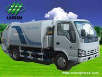 Buy cheap Camió n de basura,  contenedores de basura Camió n recolector de basura,  compactador de basura,  www.cnlonghorse.com from Wholesalers