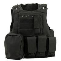 Police Tactical Vest Molle Gear Swat Black Tactical Vest For Hunting