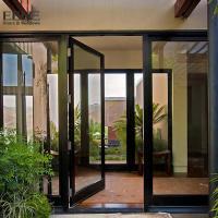 Buy cheap Double Access Aluminum Entrance Door / Thermal Break Aluminium Swing Door from Wholesalers