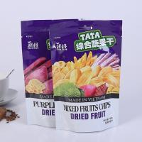 Buy cheap FDA EU Food Grade Plastic Bags , Plastic Reusable Aluminum Foil Zip Lock Bag from Wholesalers