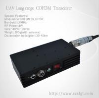 Buy cheap 3W RF Power COFDM long range AV Transmitter for UAV from Wholesalers