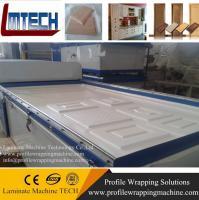 Buy cheap pvc door vacuum membrane press machine from Wholesalers