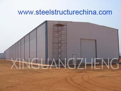 Steel Workshop Warehouse Qingdao Xinguangzheng Steel Structure Co ...
