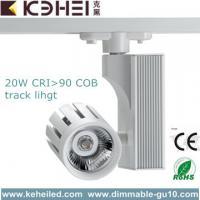 Buy cheap 20Watt AC 110 - 260V LED Track Lighting With 24°Beam Angle White / Black from Wholesalers