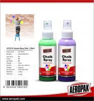 China Aeropak Chalk Spray Paint For Car Fun Decoration Wedding Christmas Washable Spray on sale