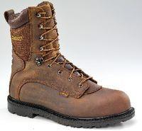 China Carhartt Waterproof 9H Steel-Toe Boots, Size 8 Medium on sale