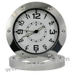 China Spy Mini Hidden table clock camera dvr with motion detector MKT-TMDV01 on sale