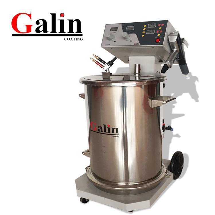 Buy cheap Electrostatic Semi Intelligent Powder Coating Machine GalinK-308 from Wholesalers