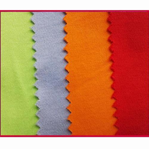 China Cotton Interlock Knitted Fabric on sale