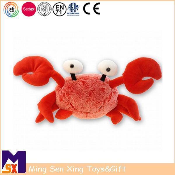 Stuffed Animal Plush Toys Soft Plush Crab Toy for Kids