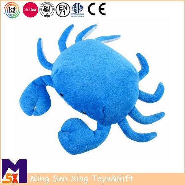 Buy cheap Stuffed Animal Plush Toys Blue Plush Stuffed Crab Toy from Wholesalers