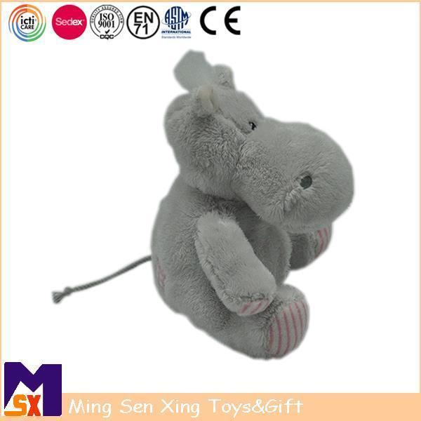 Buy cheap Stuffed Animal Plush Toys Grey Hippo Stuffed Animal from Wholesalers