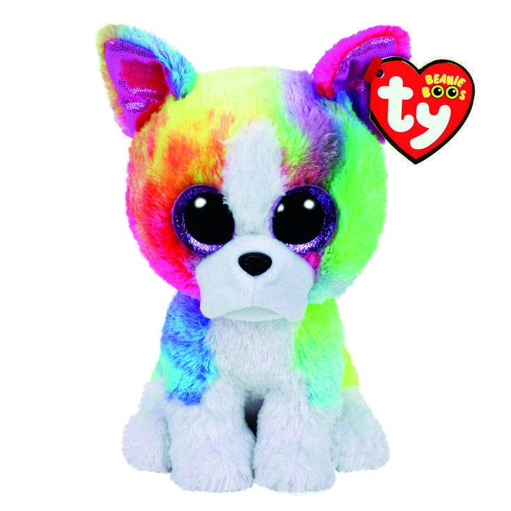 Buy cheap TY Beanie Boo Medium Isla the Rainbow Bulldog Soft Toy Toys from Wholesalers