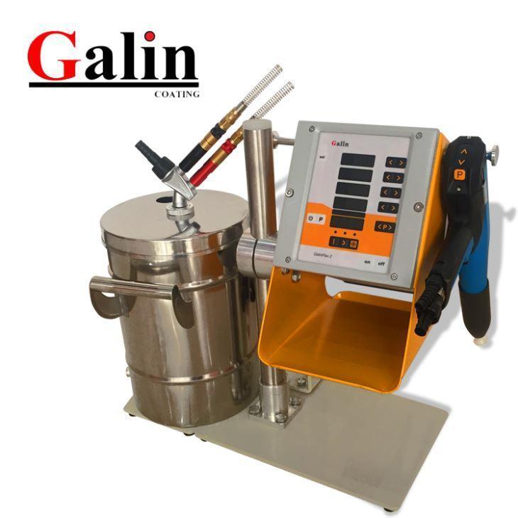 Buy cheap Galin Flex 2L Electrostatic Lab Hopper Powder Coating Machine from Wholesalers