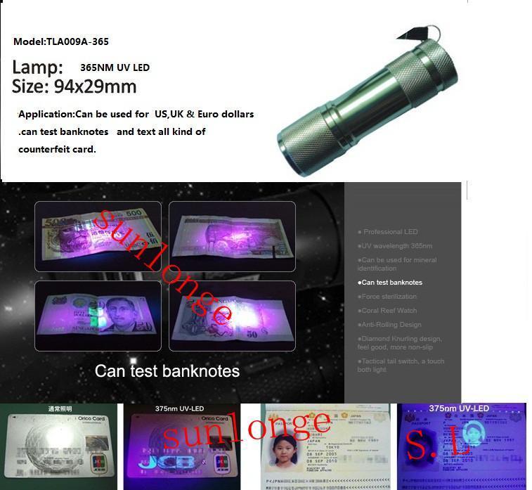UV LED Flashlight TLA009-UV